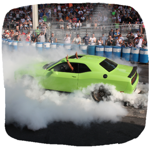 Chrysler Hellcat Burnout