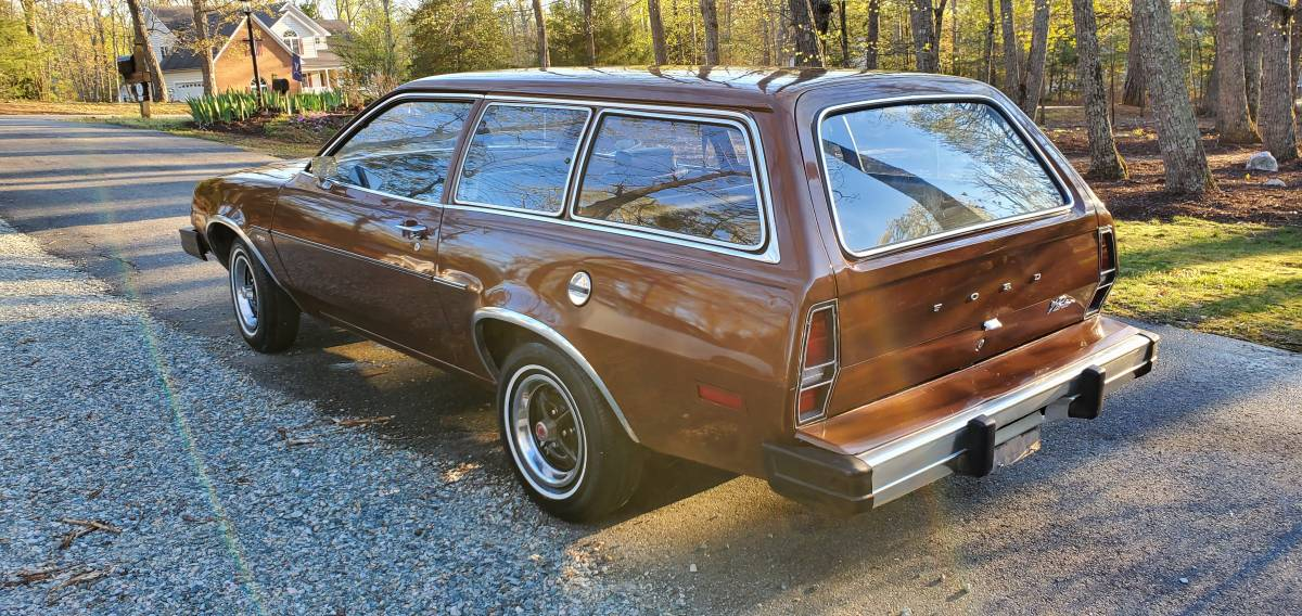 5. 1980 Ford Pinto Sport Wagon