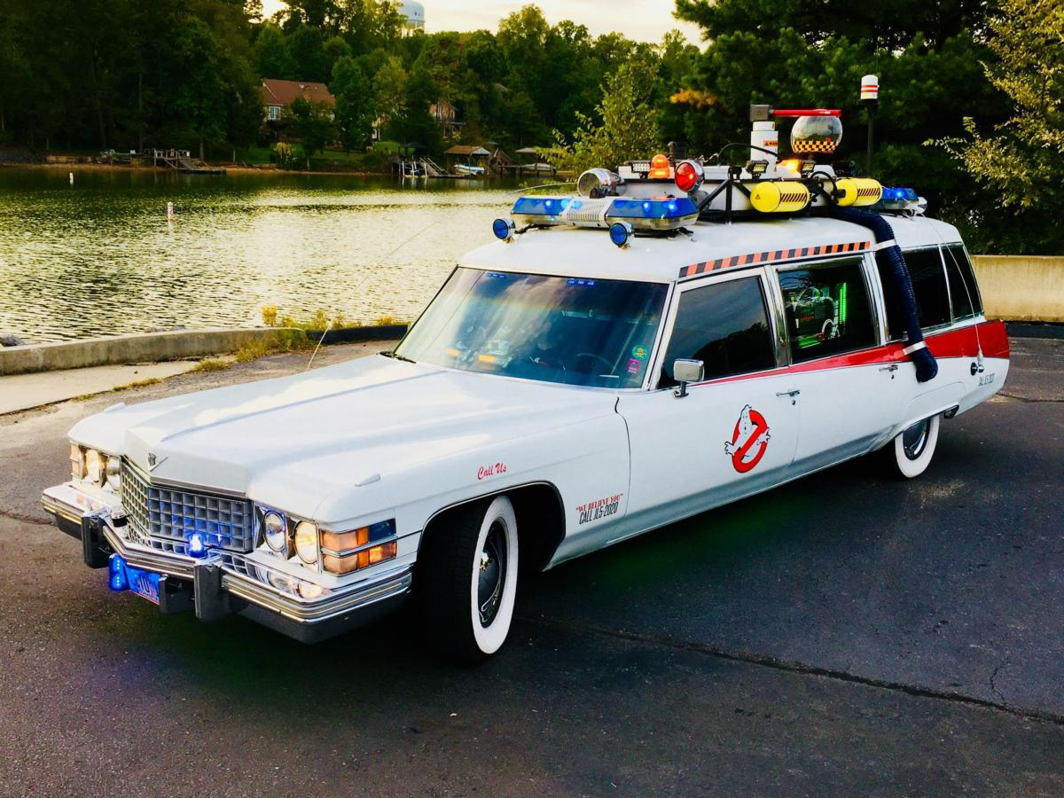 7. Ghostbusters 1959 Cadillac Miller Meteor